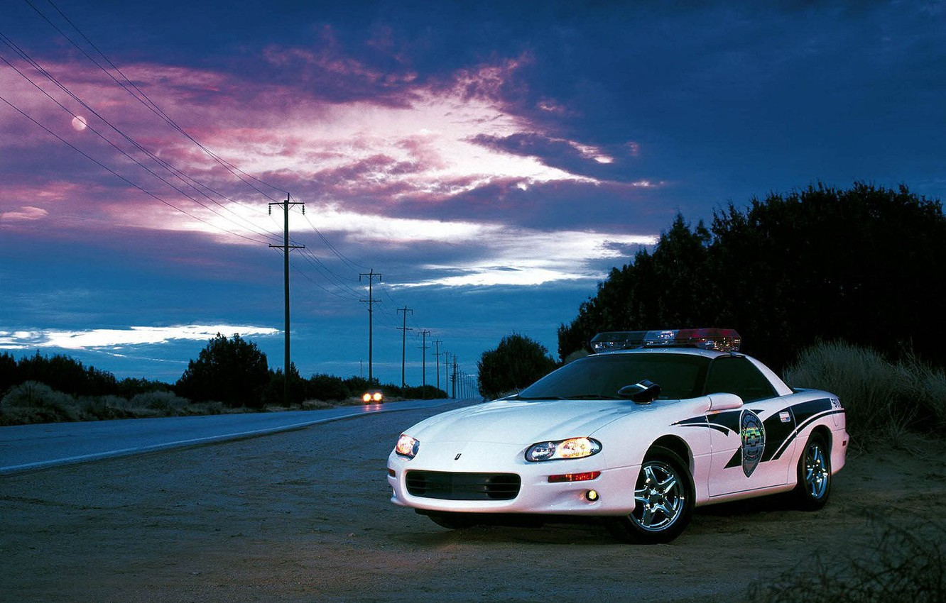 Photo wallpaper road, the evening, DPS