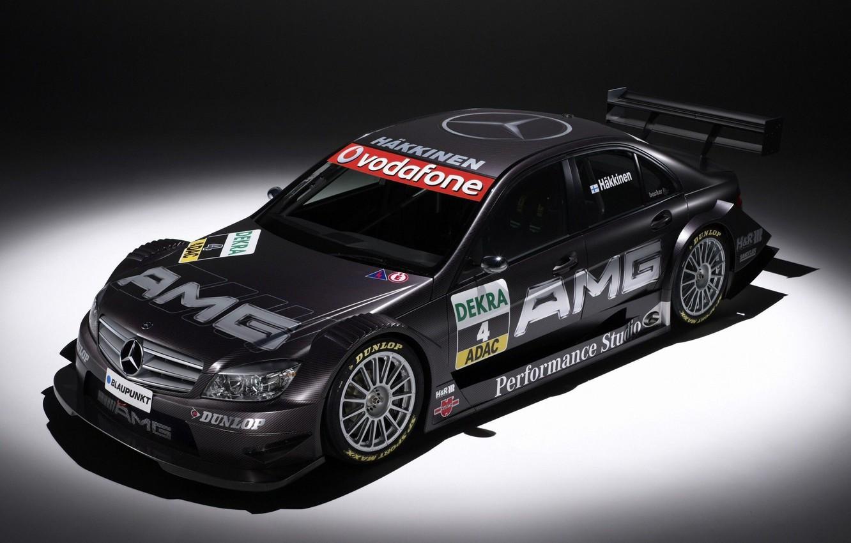 Photo wallpaper sport, race, mercedes, Mercedes, amg, dtm