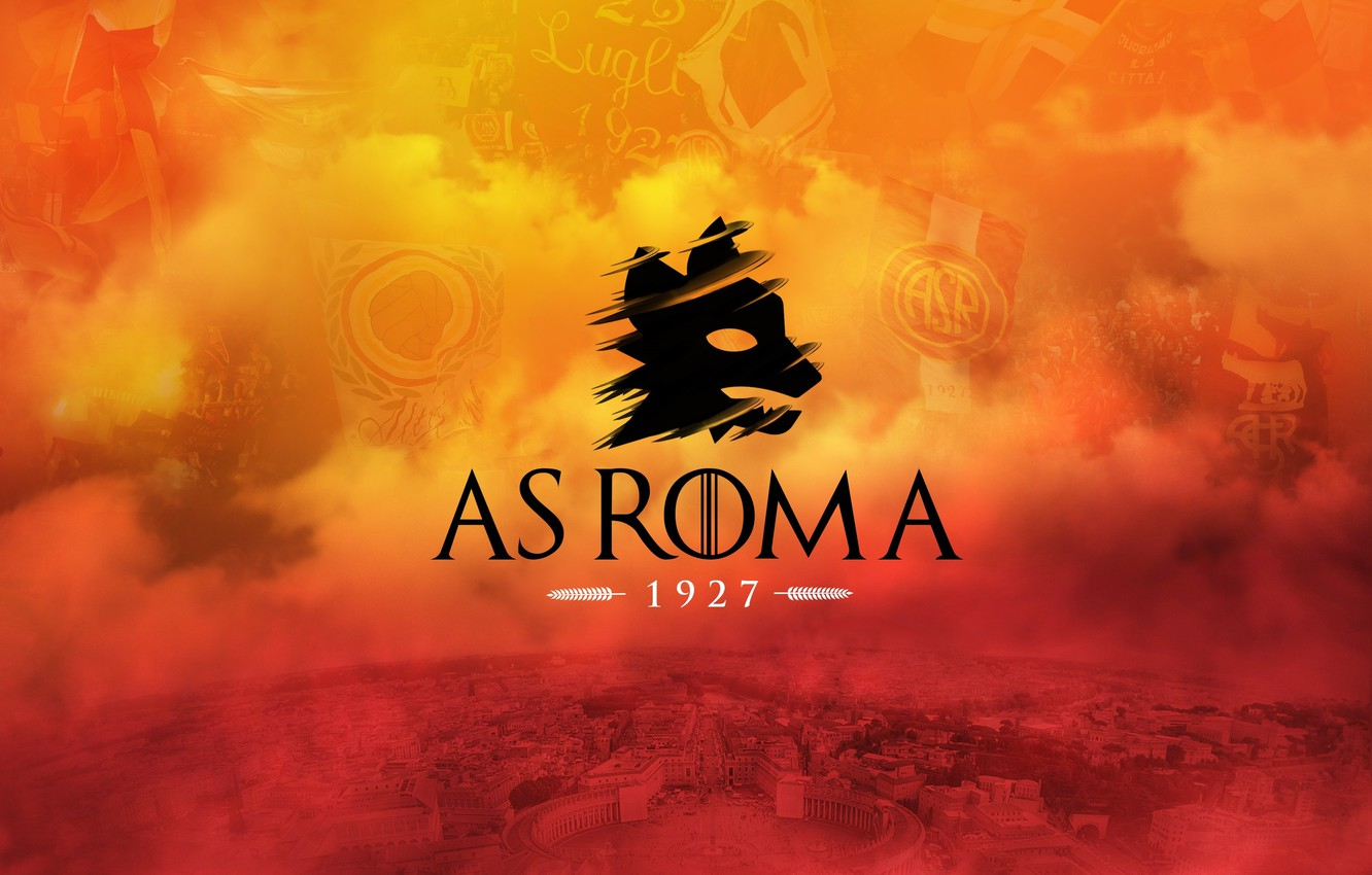 Wallpaper wallpaper, sport, Italy, football, AS Roma images for desktop,  section спорт - download