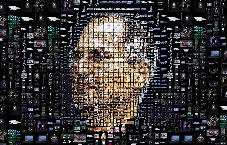 Photo wallpaper Wallpaper, Apple, ipod, mac, wallpaper, iphone, ipad, Steve Jobs, Steve Jobs, itunes, gadgets