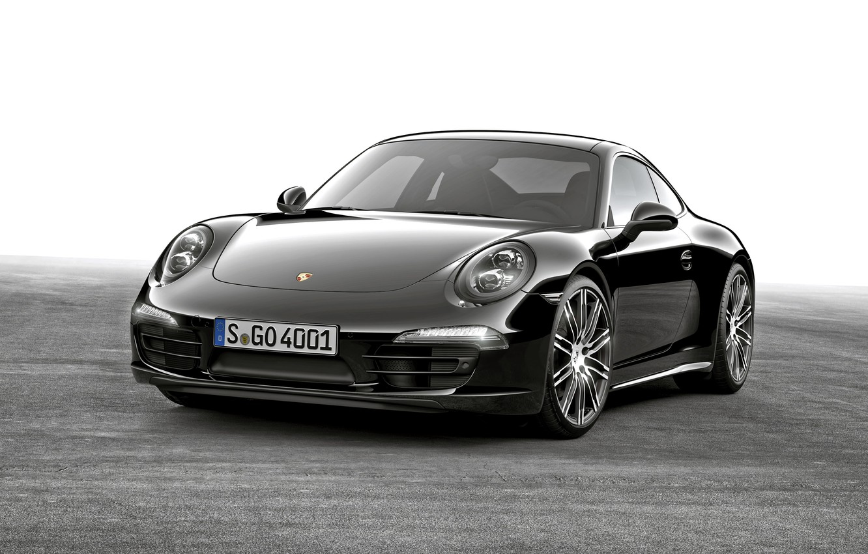 Photo wallpaper coupe, 911, Porsche, black, Porsche, Black, Coupe, Carrera, 2015