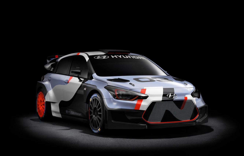 Photo wallpaper Concept, the concept, Hyundai, WRC, i20, 2015, Hyundai