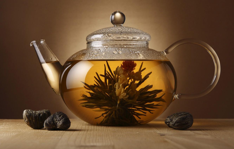 Photo wallpaper tea, kettle, welding