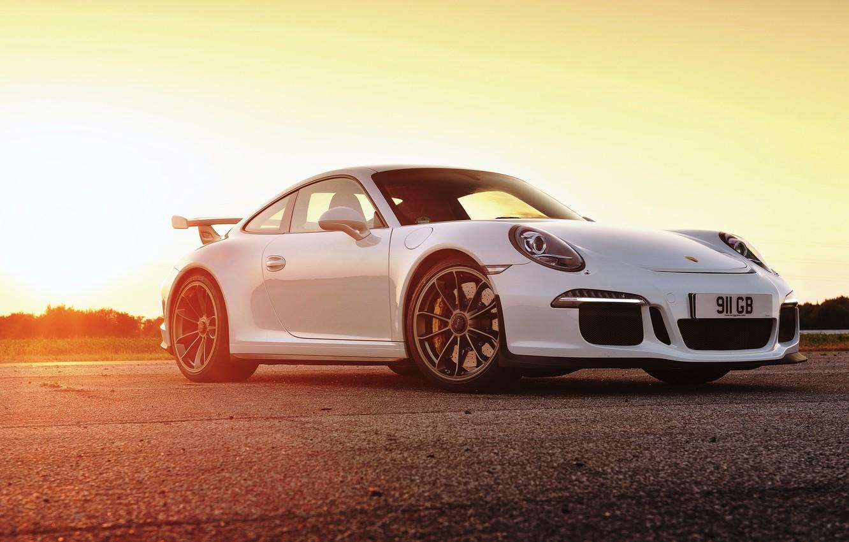Photo wallpaper 911, Porsche, Porsche, GT3, UK-spec, 991, 2014