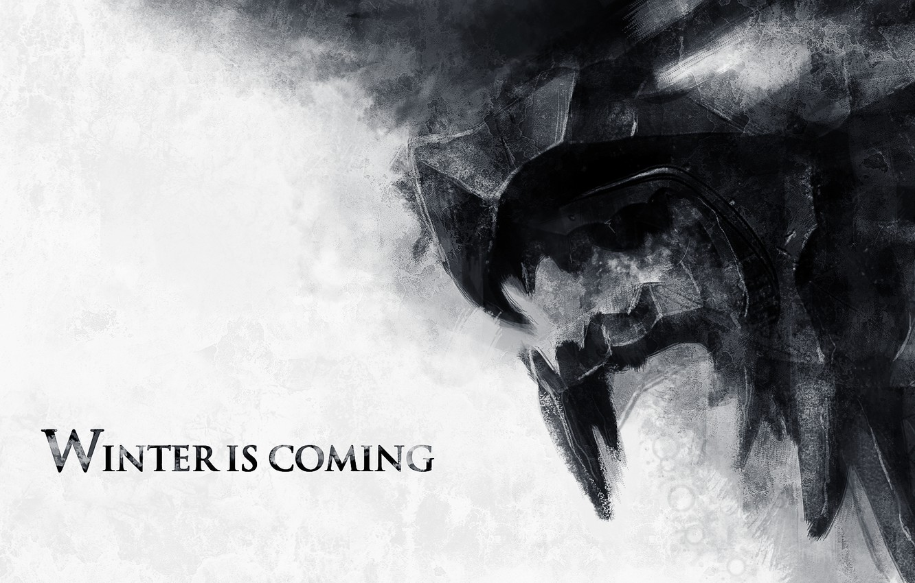 Photo wallpaper wolf, wolf, game of thrones, game of thrones, winter is coming, stark, winter is coming, …