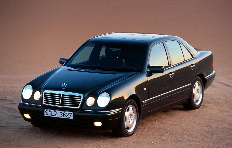Photo wallpaper Mercedes-Benz, Mercedes, E-class, E-Class, 1995, E-class, W210, Executivklasse, Lupato, Eyed, E230