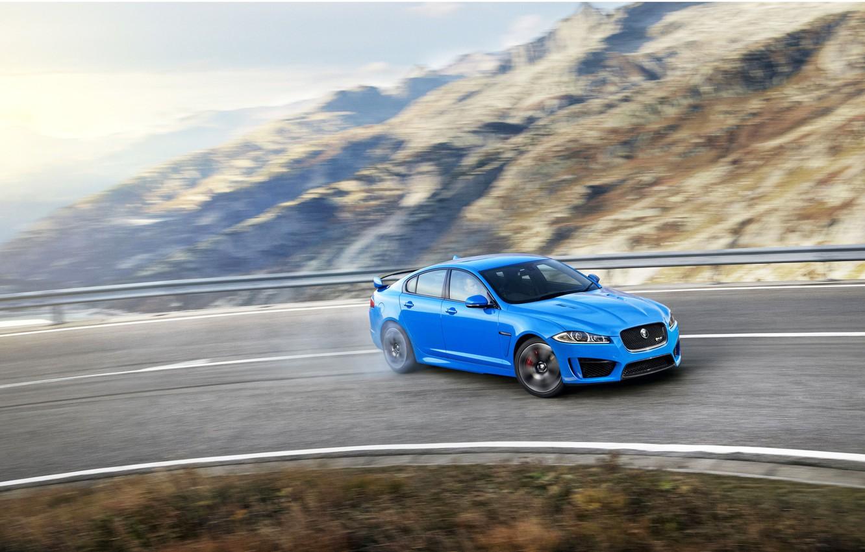 Photo wallpaper Jaguar, Drift, XFR-S