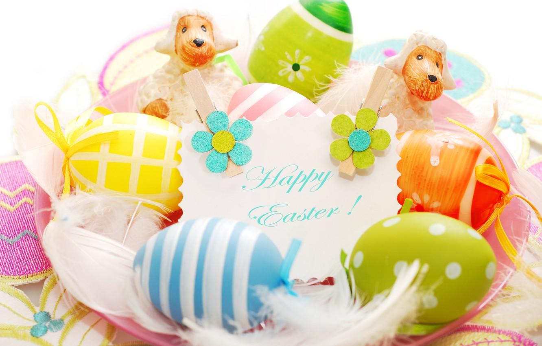 Photo wallpaper eggs, Easter, Easter eggs