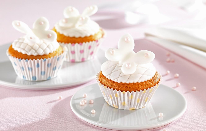 Photo wallpaper food, cake, cake, dessert, food, sweet, cupcakes, dessert, muffins, cupcakes