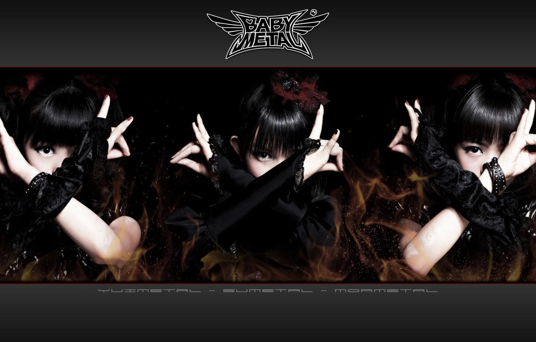 Photo wallpaper kawaii, music, metal, rock, flower, dress, fox, gothic, model, pretty, singer, ninja, asian, pose, mask, …
