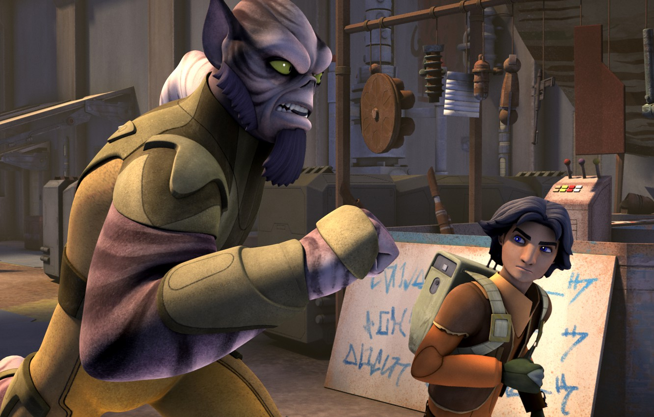 Wallpaper The Animated Series Star Wars Rebels Star Wars Rebels Ezra And Zeb Images For Desktop Section Filmy Download