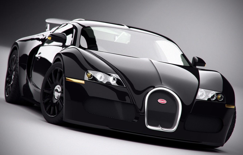 Photo wallpaper Bugatti, Veyron, Stealth