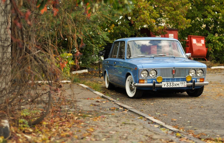 Photo wallpaper background, car, classic, Lada, vaz, LADA, low classic, Resto, VAZ 2103