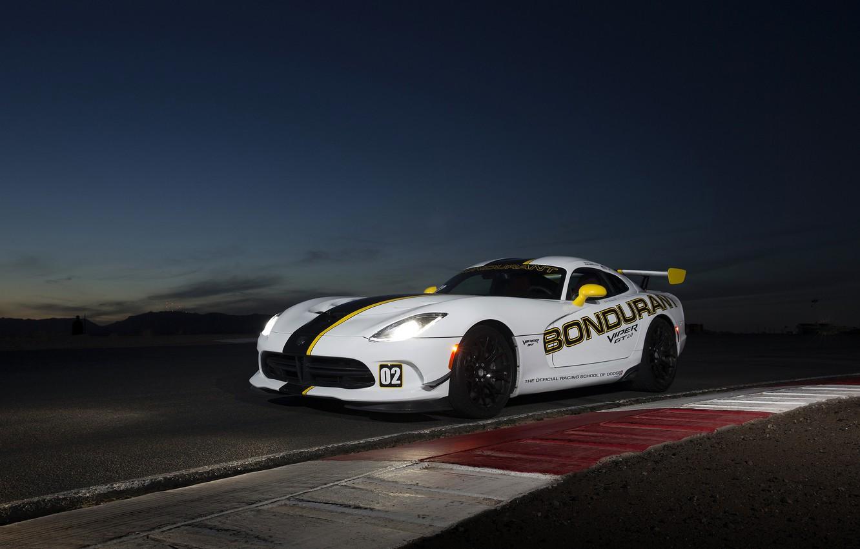 Photo wallpaper Dodge, supercar, Viper, Dodge, Viper, GTC