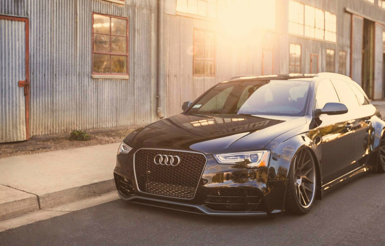 Photo wallpaper auto, Audi, tuning, Before