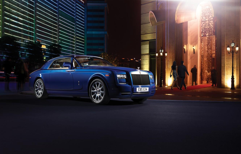 Photo wallpaper Rolls-Royce, Phantom, Rolls Royce, coupe, rolls Royce, phantom