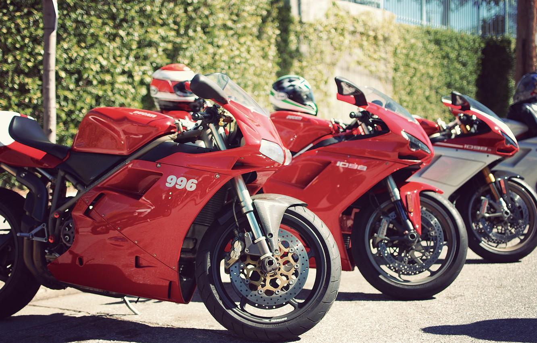 Photo wallpaper ducati, sportbike, 996, 1098