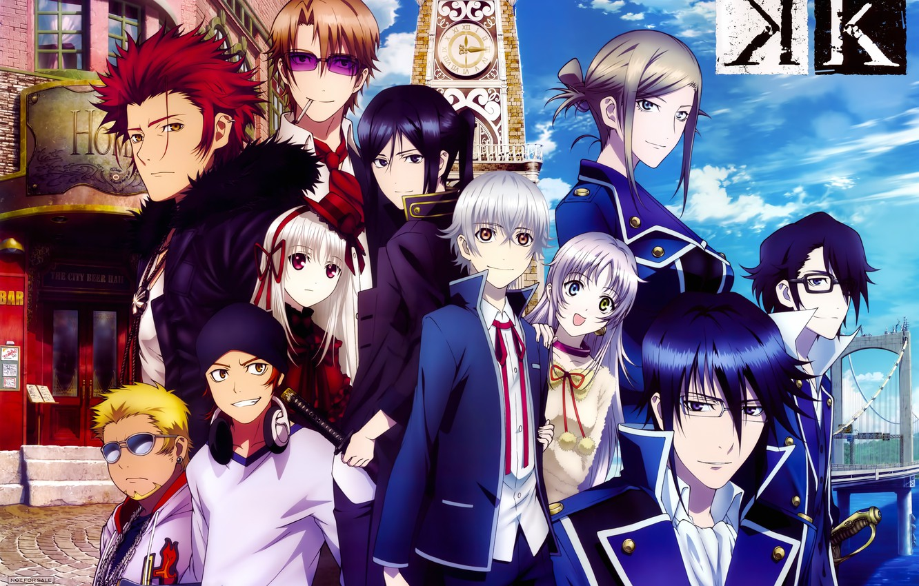Photo Wallpaper Anime Memory Of Red K Project Homra