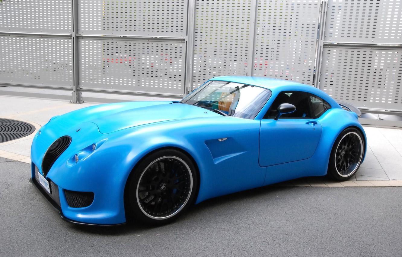 Photo wallpaper blue, drives, Car, black