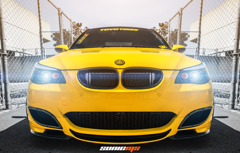 Photo wallpaper car, tuning, BMW, tuning, rechange, E60, BMW M5