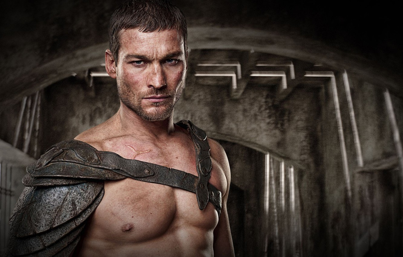 Photo wallpaper Spartacus, Gladiator, Blood and Sand, Andy Whitfield