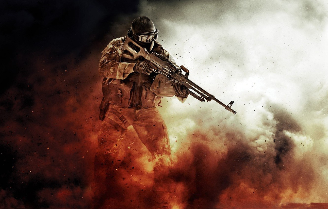 Photo wallpaper game, soldiers, medal of honor, special forces, Medal of Honor: Warfighter