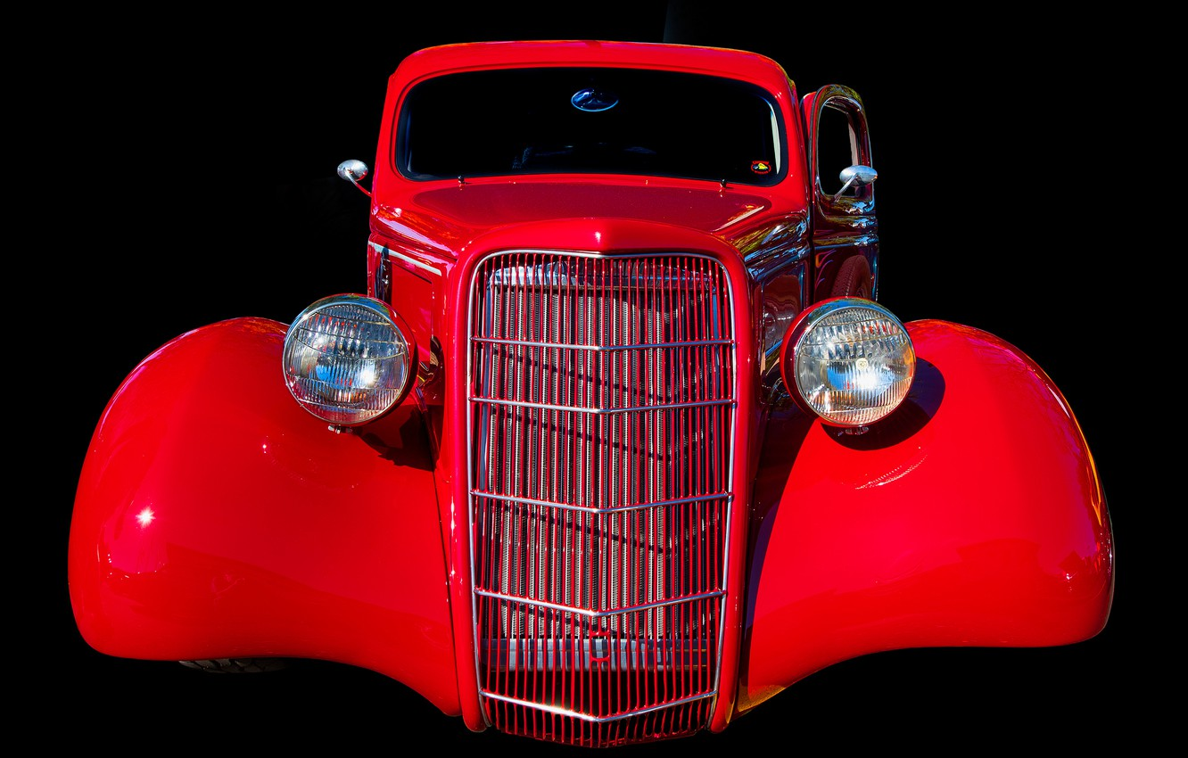 Photo wallpaper retro, background, lights, grille
