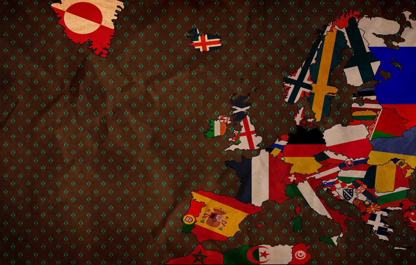 Photo wallpaper creative, background, country, Wallpaper, texture, art, flags, Europe, picture, image