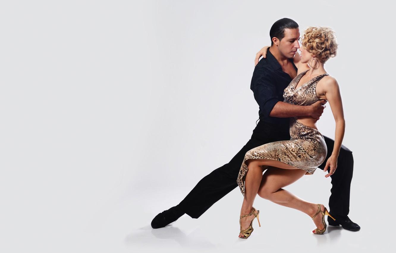 Photo wallpaper tango, woman, rhythm, man, dancing