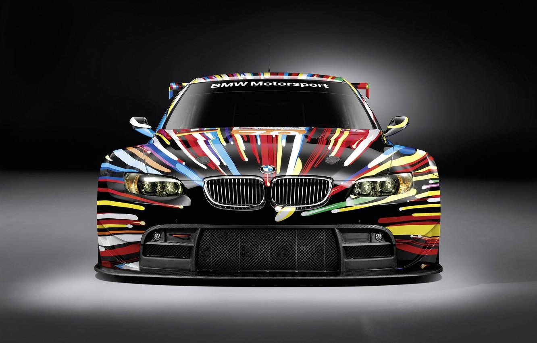 Photo wallpaper BMW, GT2, razrisovany, the front