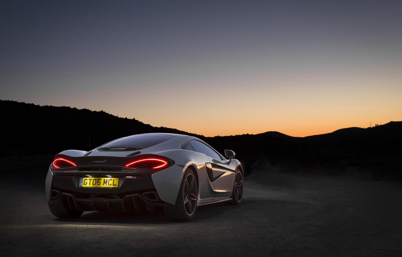 Photo wallpaper auto, Wallpaper, McLaren, wallpaper, supercar, supercar, auto, back, 570GT, brake light