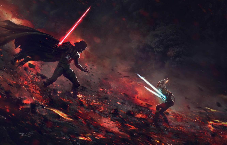 Star Wars, darth vader, Lightsaber
