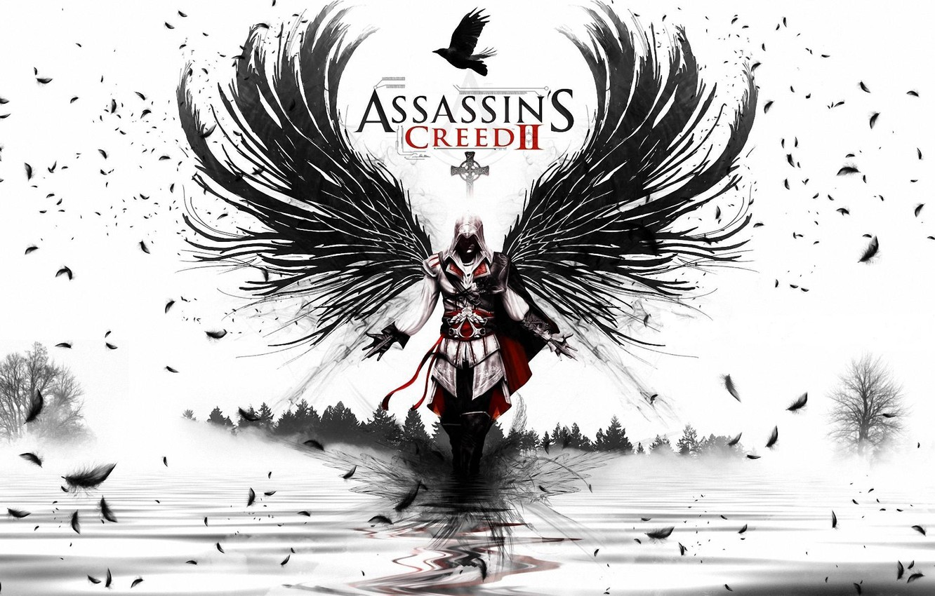 Wallpaper Wings Assassins Creed Ezio Images For Desktop Section Igry Download