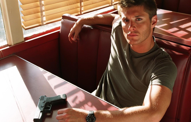 Photo wallpaper actor, Jensen Ackles, Supernatural, Dean Winchester