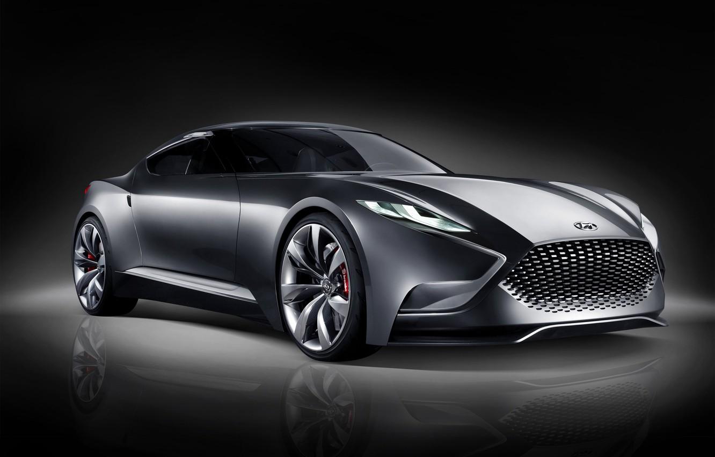 Photo wallpaper coupe, concept, coupe, hyundai, genesis, 2015, Hyundai