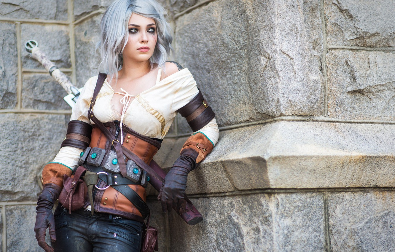 Wallpaper The Witcher 3 Wild Hunt Cosplay The Witcher 3 Wild