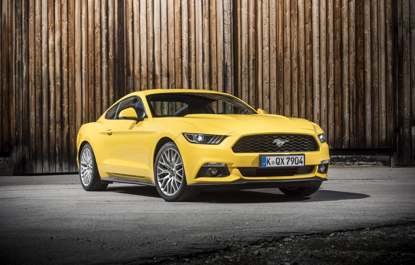 Photo wallpaper coupe, Mustang, Ford, Mustang, Ford, 2015, EU-spec
