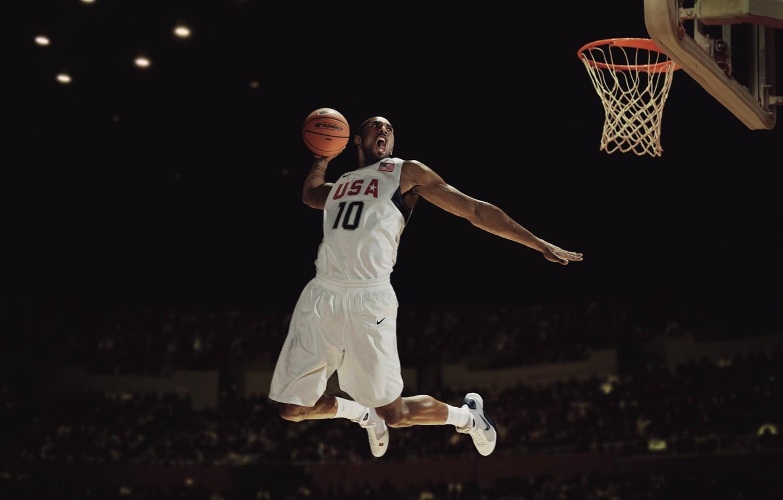 buy popular db9b5 3790c Photo wallpaper Basketball, USA, Nike, Kobe Bryant, Team, Slam Dunk,