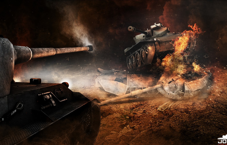 Photo wallpaper Tank, World of tanks, German, World of Tanks, Lion, Lowe, T71, WOT