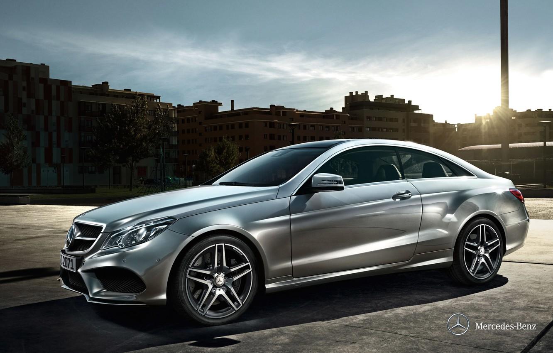 Photo wallpaper coupe, Mercedes-Benz, E-class, Mercedes, Coupe, 2013, C207