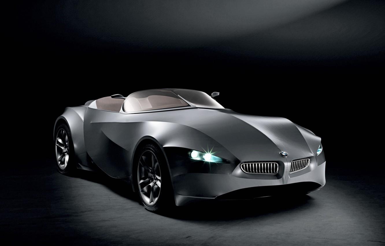 Photo wallpaper black, concept, BMW, GINA