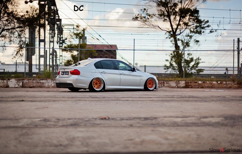 Photo wallpaper metalik, BMW, drives, series, bbs, E90