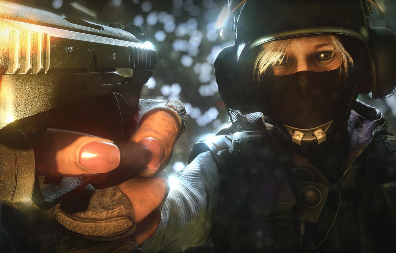 Wallpaper fighter, GSH-18, Rainbow six: Siege, pistol images