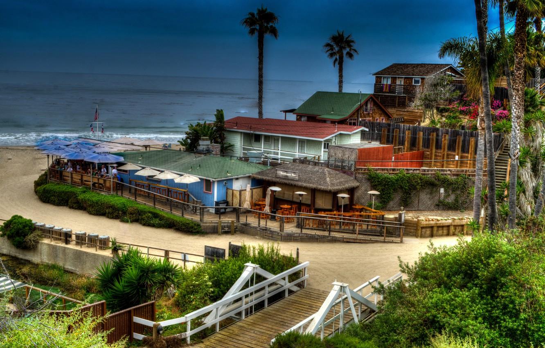 Wallpaper Sea Beach Hdr Home Ca Usa Newport Beach Images For Desktop Section Gorod Download