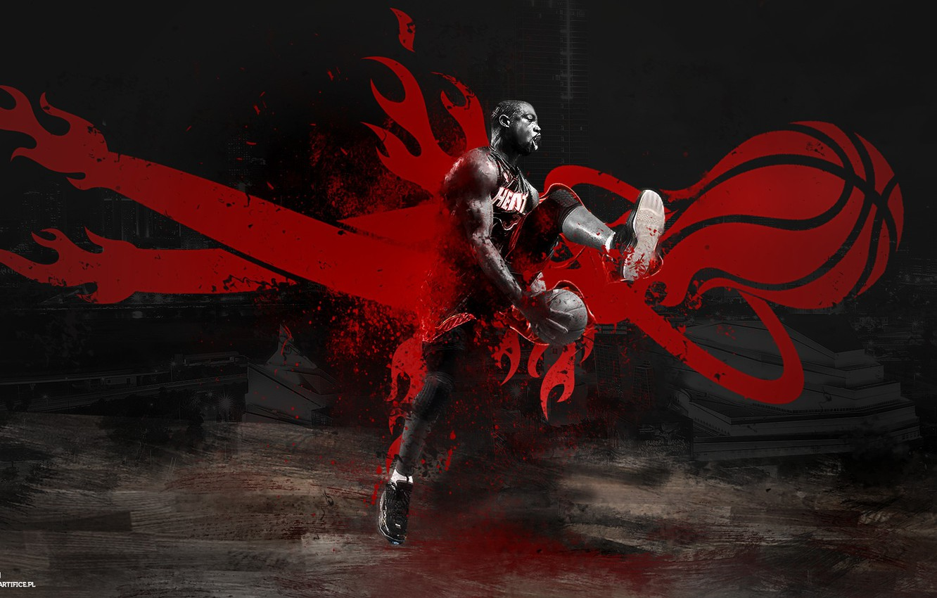 Wallpaper Miami Basketball Miami Basketball Nba Nba Heat