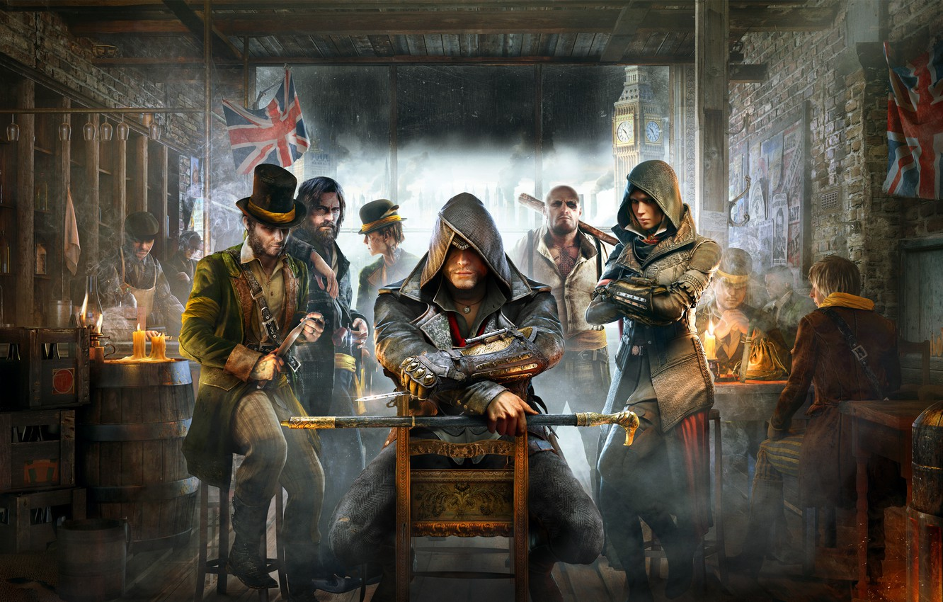 Wallpaper London Killer Character Syndicate Tavern Assassin S