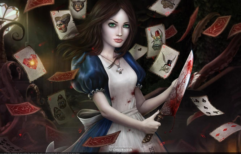 Photo wallpaper Alice, Madness, Returns