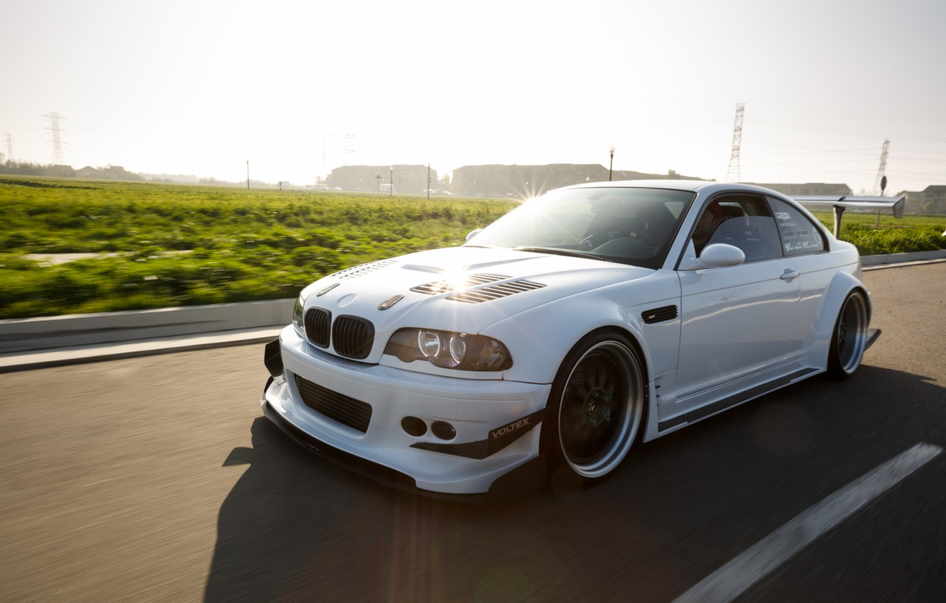 Photo wallpaper BMW, E46, low, stance, Work, Wide, Work VS-XX, BellyScraper, Voltex, WideBody, GTR widebody