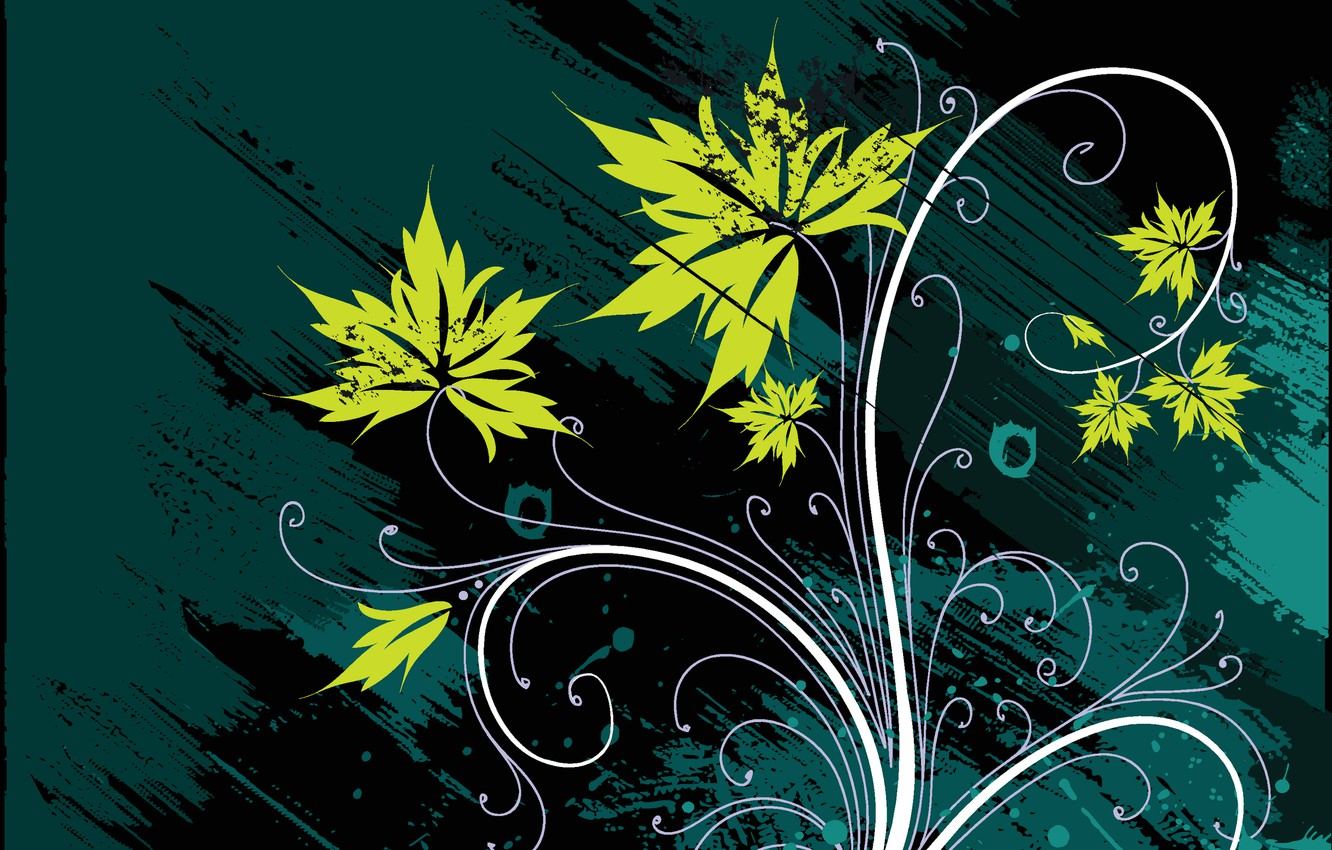 Photo wallpaper flower, abstraction, background, patterns, petals