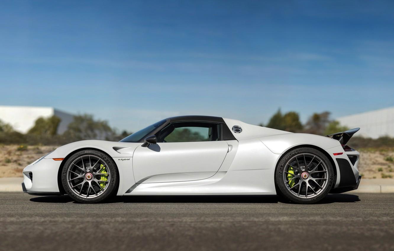 Photo wallpaper Porsche, supercar, Porsche, Spyder, 918